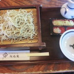佐鳴庵 - ざる蕎麦