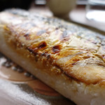 錦帯茶屋 - 岩鯖寿司
