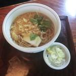 佐鳴庵 - たぬき蕎麦