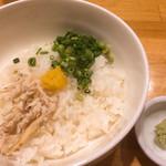 真鯛らーめん 麺魚 - 雑炊セット
