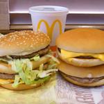 マクドナルド - のっけて比べてみた
