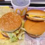 マクドナルド - ビックマックとチーズバーガー&ハンバーガー