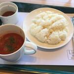 リッカ ナス ヒュッテ - スープ・ライス