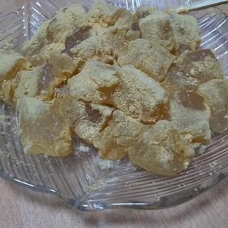 お菓子の壽城 - 料理写真:わらび餅、めちゃウマでした