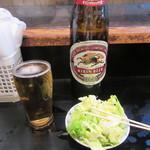 川勢 - 瓶ビール(大)・お通し