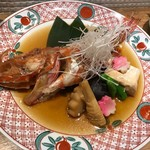 大衆割烹TAKEYA - キンキの煮付け 2200円