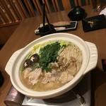 和食個室居酒屋 祇園邸 - 柚子塩鍋