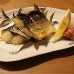 和食個室居酒屋 祇園邸 - 鯖の炙り