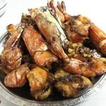 海員閣 - 干煎車蝦(車海老のからに) 2人前   4200円×2