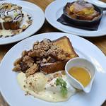 エム ハウス - 人気のブリオッシュフレンチトーストを使ったデザートフレンチ!!
