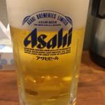 ゆぇん - ビールセットの生ビール