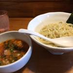 翔鶴 - 限定 海老味噌つけ麺