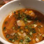 翔鶴 - 海老味噌のつけ汁