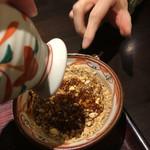 香るつけ蕎麦 蕎麦花 -