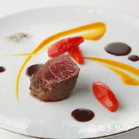 レストラン ラ フィネス - 『熟成赤み牛フィレのステーキ クラシカルな赤ワインのソース』