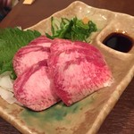京亀 - 料理写真:馬タン   ¥870