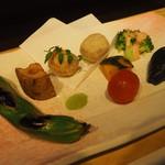 66447615 - 野菜の炊き合わせ