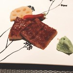 GINZA KOSO - ミスジの網焼き