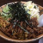 麺舗 十六 - B麺並ネギ増し750円