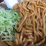 麺舗 十六 - B麺の麺はモッチリ