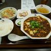 ブーニーズ - 料理写真:麻婆豆腐定食