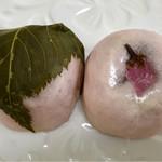 菓子処たかはし - 料理写真:春限定 桜まんじゅう 10個入り 1080円