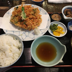 66450479 - 桜えびのかき揚げ定食