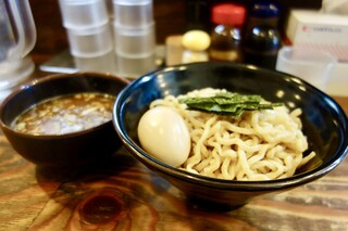 麺屋いちびり - [2017/04]つけ麺300g(830円)+味玉(100円)