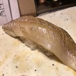 第三春美鮨 - 白鱚 85g 昆布〆 刺し網漁 千葉県富津