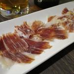エロうま野菜と肉バル カンビーフ - イベリコ豚の生ハム