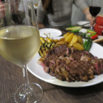 エロうま野菜と肉バル カンビーフ - カルタン・ピノ・グリージョ イタリア
