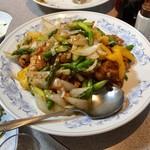 福仙楼 - 鶏肉の甘辛炒め(ゆず風味)