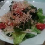 すし三崎港 - 生野菜サラダ