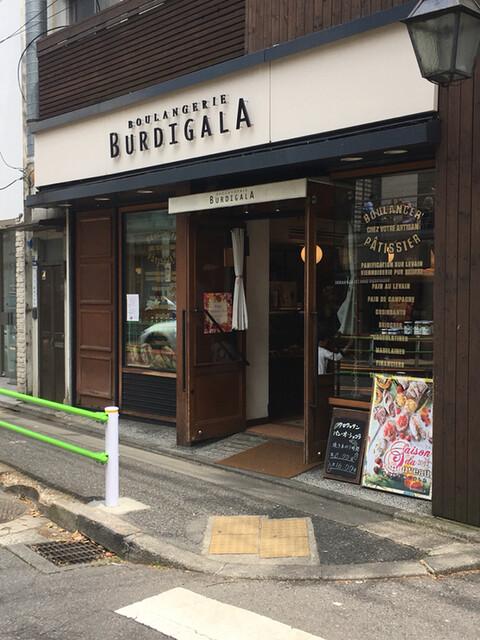 ブーランジェリーブルディガラ 広尾店 - 外観