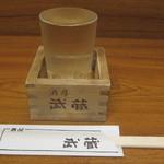 酒房 武蔵 - 九州菊(純米吟醸)(福岡):450円