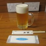 酒房 武蔵 - 生ビール:300円