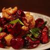 酒廊 而空 - 料理写真:モモ肉の大盛り唐辛子炒め