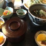 音吉 - かけ蕎麦定食