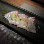 白金魚 - カンパチのカルパッチョ
