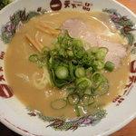 天下一品 - カキフライ定食(こってりラーメン)