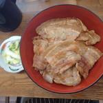 炭焼豚丼 空海 - 豚丼~バラ