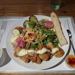 サラダレストラン Mr.&Mrs.GREEN - チキンタルタルサラダ 1280円