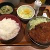 祭太鼓 - 料理写真:塩とんかつ丼 サラダ定食