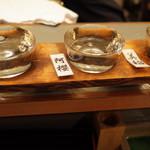 66464255 - 秋田の地酒飲み比べ3点セット