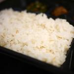 仙臺たんや 利久  - 麦飯