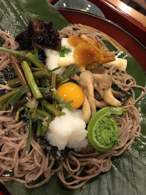 寿美久 - 山菜ざる蕎麦