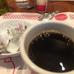 ロイヤルガーデンカフェ - 食後のコーヒー、なみなみ^_^
