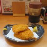 鎌倉釜飯 かまかま - アジフライ