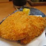 鎌倉釜飯 かまかま - アジフライアップ