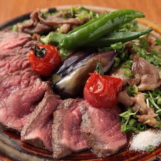 """ジビエ肉を中心に、新鮮な野菜を加えた""""くずし割烹"""""""